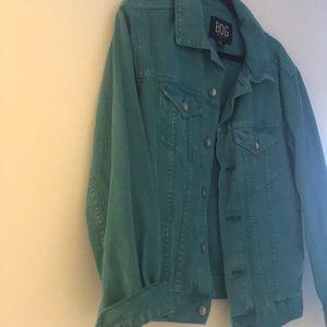 Bdg turquoise jacket